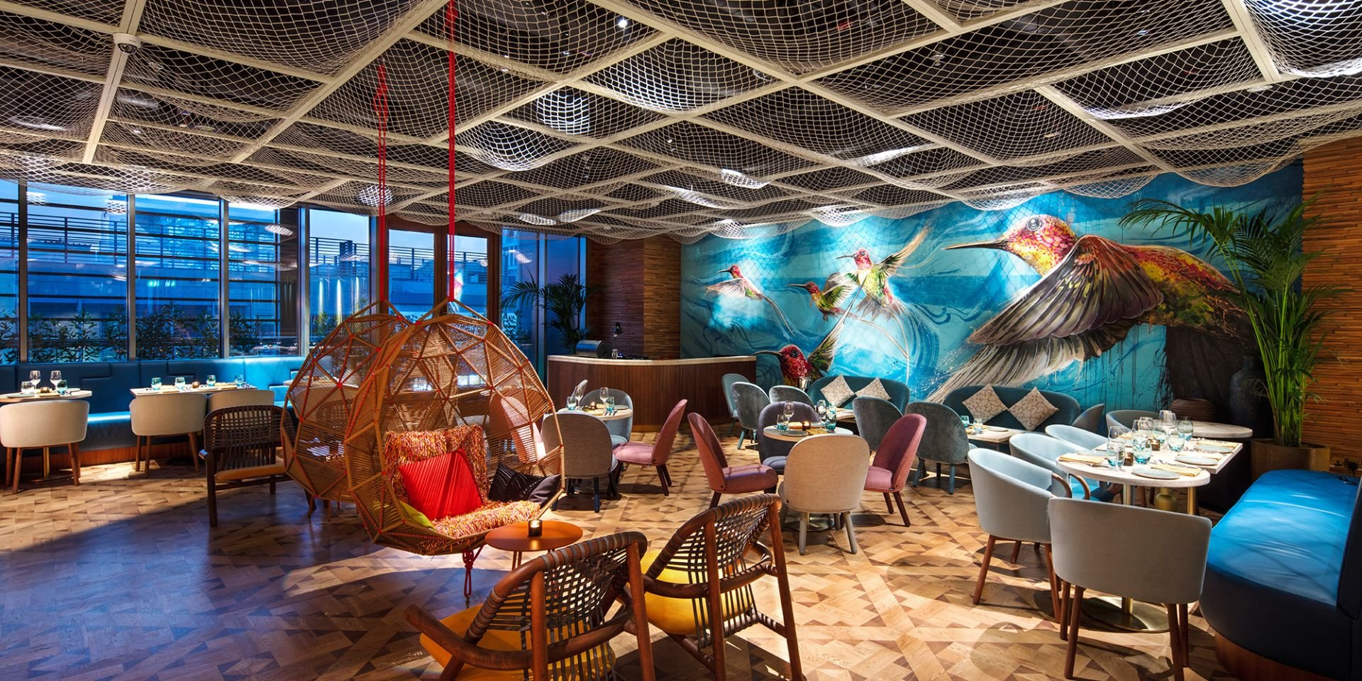 Lima, Dubai, by Michaelis Boyd Associates, Compass Project Management and A&T Group Interiors